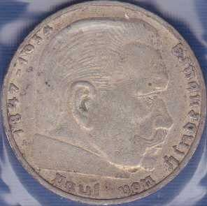 Germany 2 Reichsmark 1938A