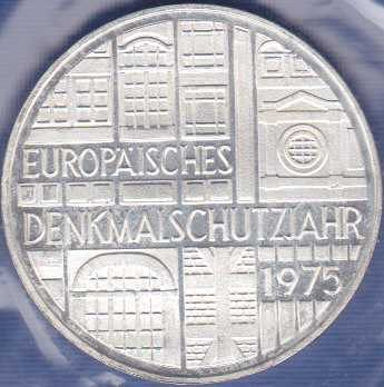 Germany 5 Mark 1975F