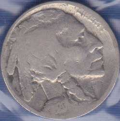 1920 P Buffalo Nickel