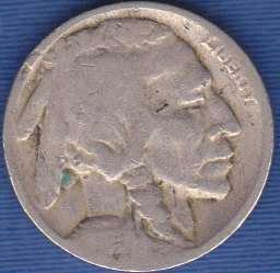 1925 P Buffalo Nickel