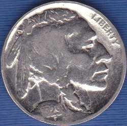 1929 P Buffalo Nickel