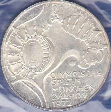 Germany 10 Mark 1972G