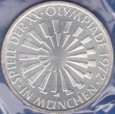Germany 10 Mark 1972F