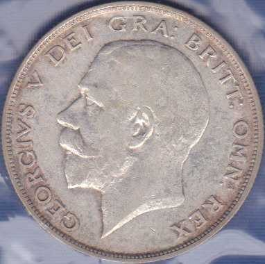 Great Britain 1/2 Crown 1923