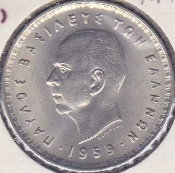 Greece 10 Drachmai 1959