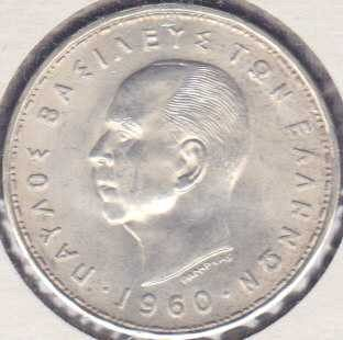 Greece 20 Drachmai 1960