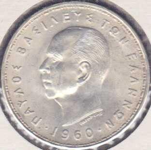 Greece 20 Drachmai 1960