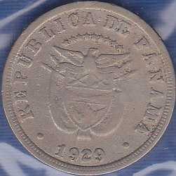 Panama 5 Centesimos 1929