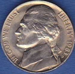 1983 D Jefferson Nickel