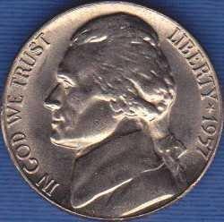 1957 P Jefferson Nickel