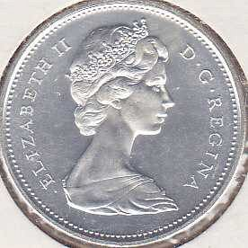 Canadian 25 Cents 1967