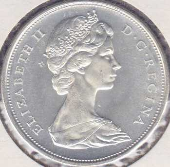 Canadian 50 Cents 1966
