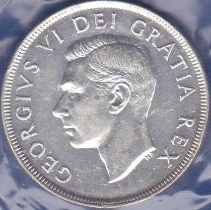 Canadian Dollar 1951