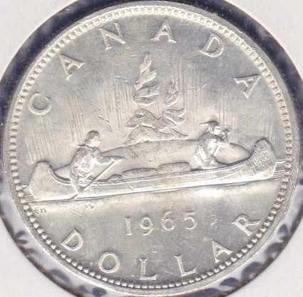 Canadian Dollar 1965