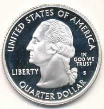 2006 S  SILVER PROOF  SOUTH DAKOTA STATE QUARTER