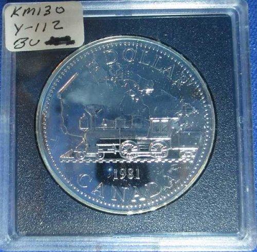 Canadian Dollar 1981, Trans Canada R. R.
