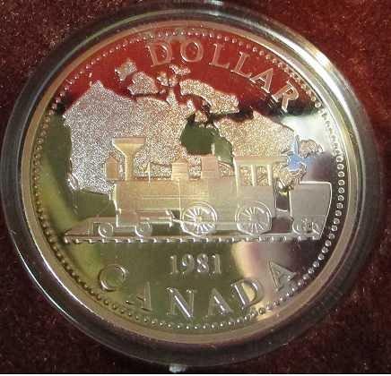 Canadian Dollar 1981 Trans Canada R.R.