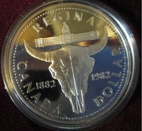 Canadian Dollar 1982 Regina