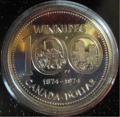 Canadian Dollar 1974, Winnipeg