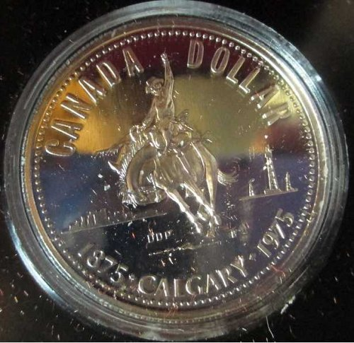 Canadian Dollar 1975, Calgary