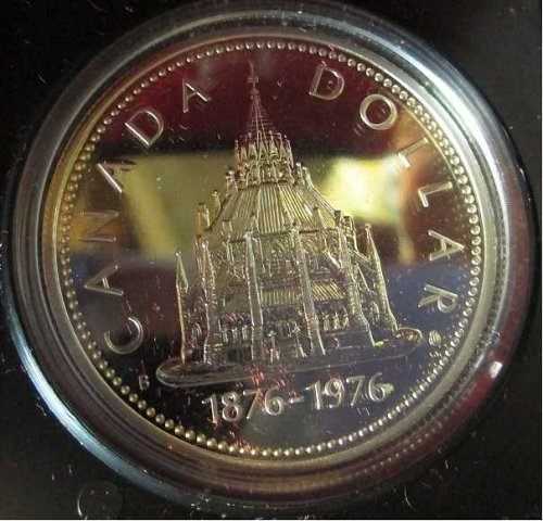 Canadian Dollar 1976, Parlimentary Library