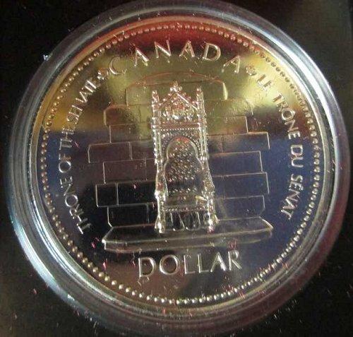 Canadian Dollar 1977, Silver Jubilee