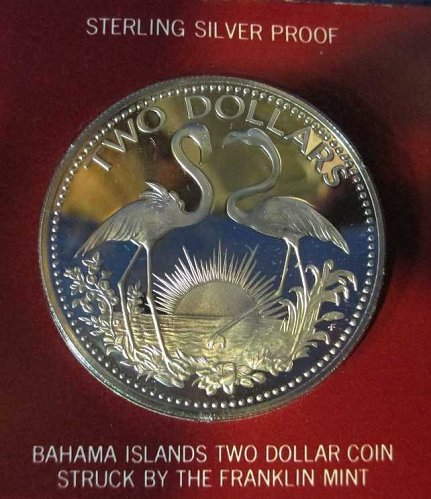 Bahamas 2 Dollars 1975