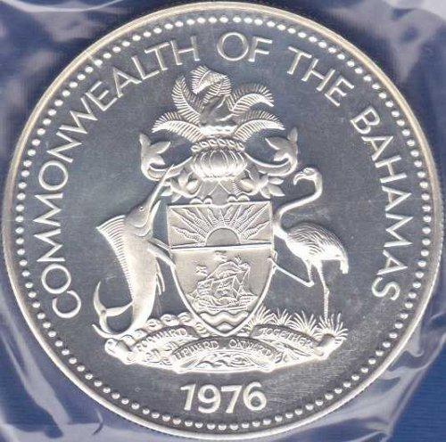 Bahamas 5 Dollars 1976