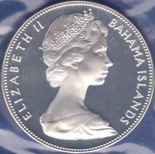 Bahamas 5 Dollars 1970