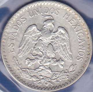 Mexico 50 Centavos 1919