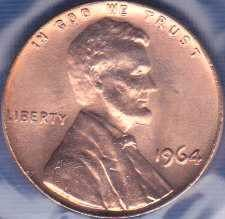 1964 P Lincoln Memorial Cent