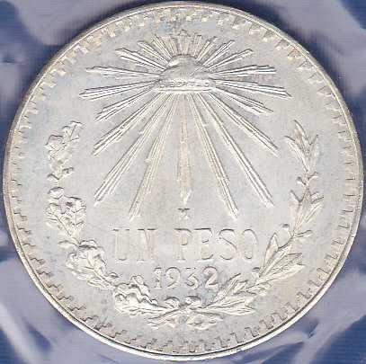 Mexico 1 Peso 1932