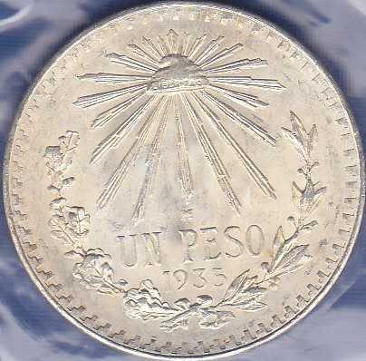 Mexico 1 Peso 1935