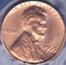 1965 P Lincoln Memorial Cent