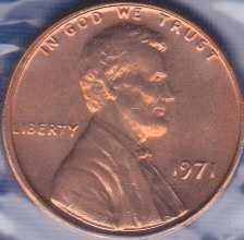1971 P Lincoln Memorial Cent