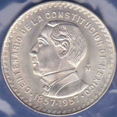 Mexico 1 Peso 1957