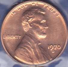 1970 D Lincoln Cent