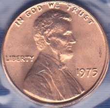 1975 P Lincoln Memorial Cent