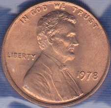 1978 P Lincoln Memorial Cent