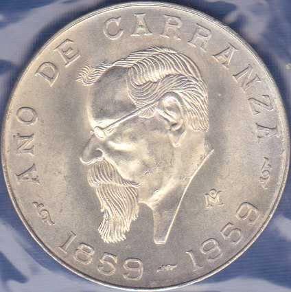 Mexico 5 Pesos 1959
