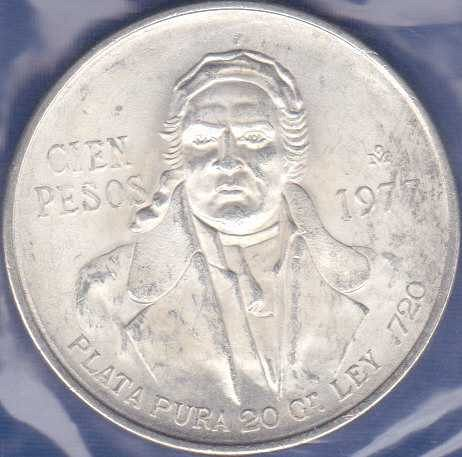 Mexico 100 Pesos 1977