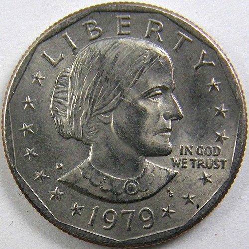 1979D SUSAN B ANTHONY DOLLAR