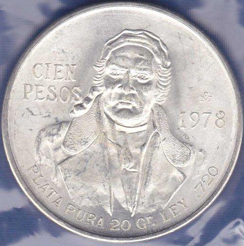 Mexico 100 Pesos 1978