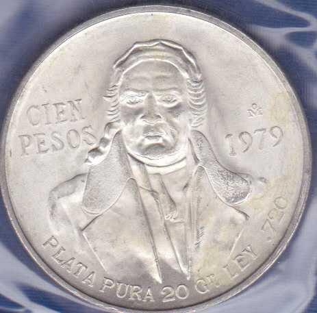 Mexico 100 Pesos 1979