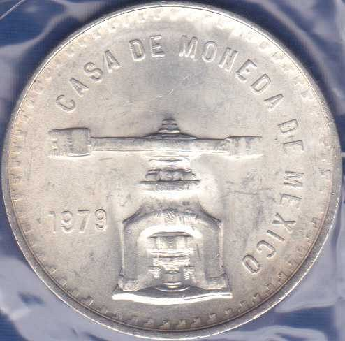 Mexico Onza 1979, Medallic Silver Bullion Coinage