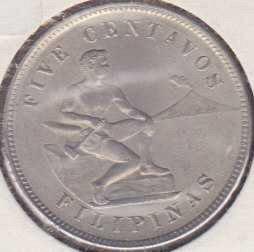 Philippines 5 Centavos 1903