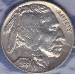 Buffalo Nickel 1935P