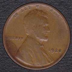 1920 P Lincoln Wheat Cent Small Cent