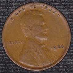 1925 P Lincoln Wheat Cent Small Cent
