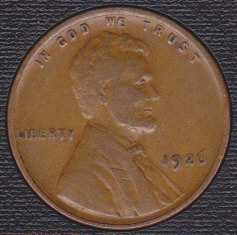 1926 P Lincoln Wheat Cent Small Cent